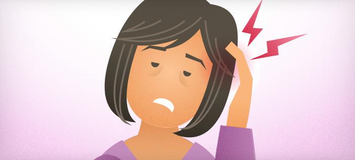 Headache and Migraine Pain callout-migraine